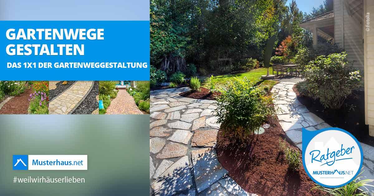 Gartenwege Gestalten Tipps Tricks Materialien Und Viele Beispiele