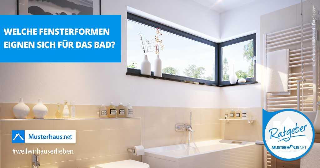 Fenster im Badezimmer - Welche Fenster eignen sich im Bad?