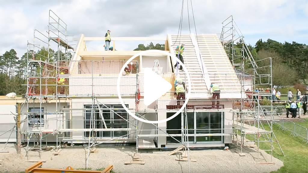 Musterhausparks h user und baufirmen in deutschland for Fertighaus bau