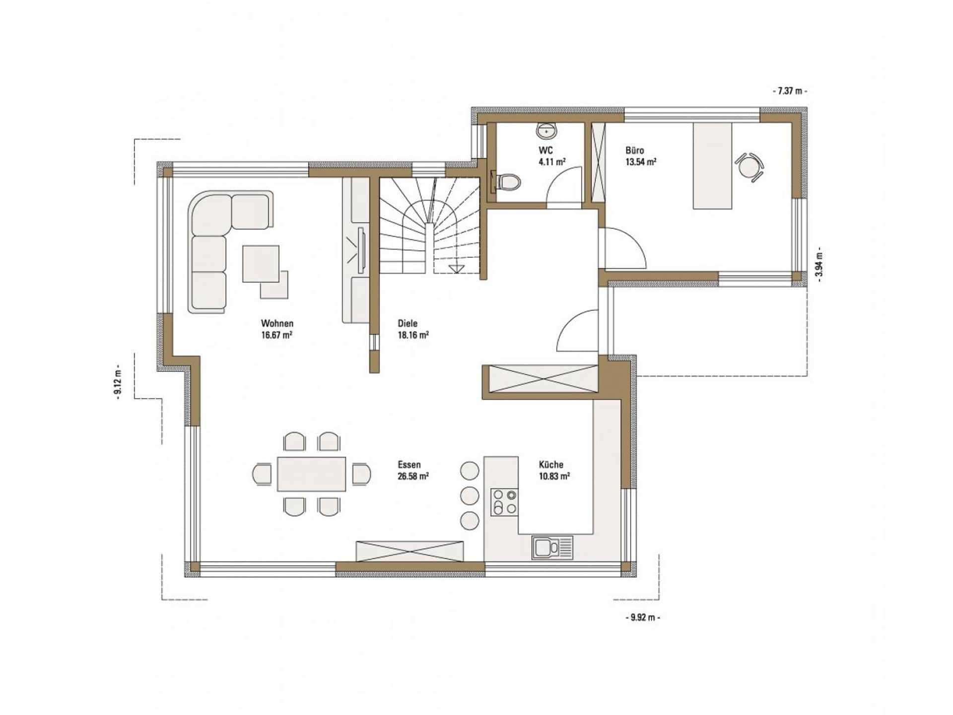 Fertighaus grundriss  Pultdachhaus bauen: Informationen und Erfahrungen