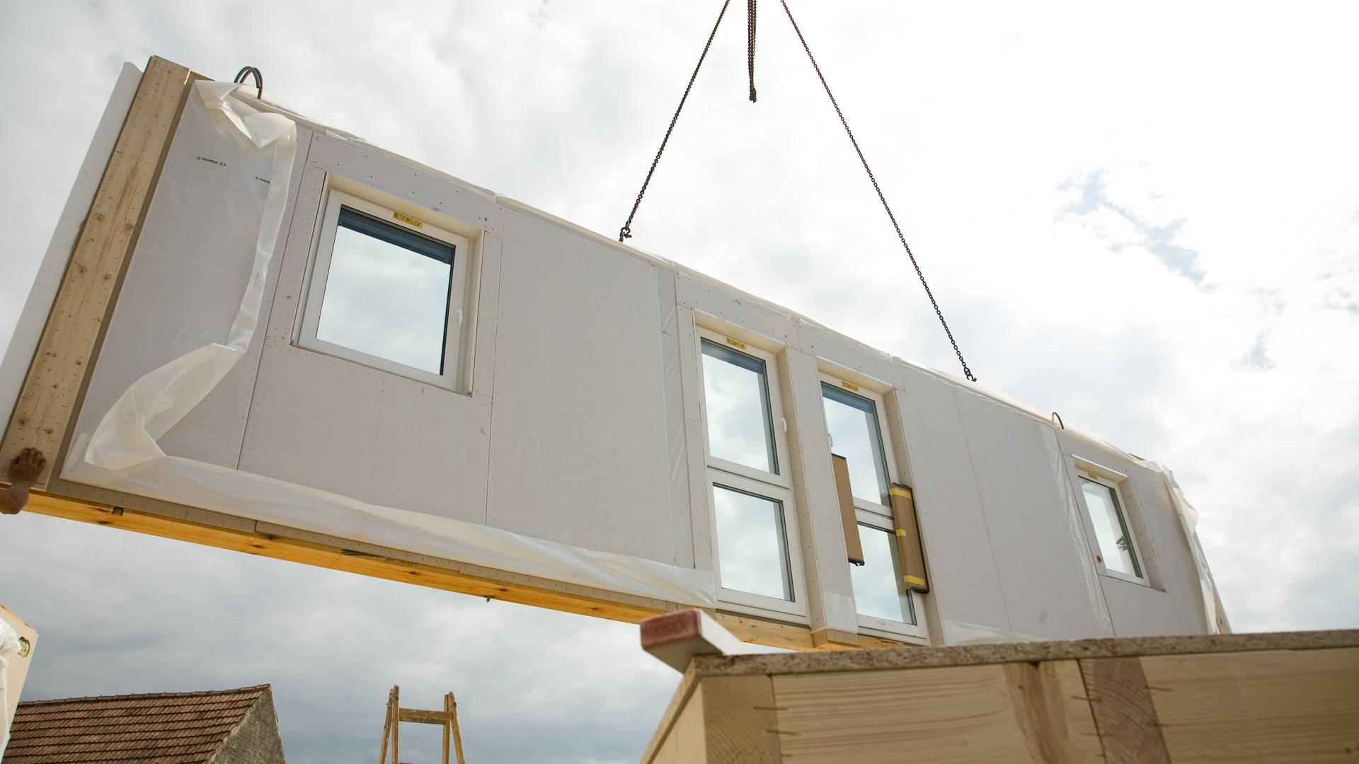 Fertigteilhaus beton  Fertighaus bauen im Winter - Alle Infos und Tipps