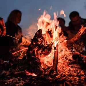 Feuer im Garten machen