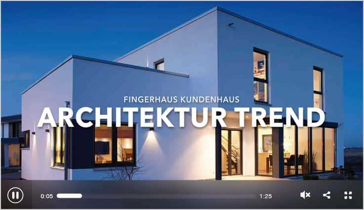 Fingerhaus - Architektur Trend Haus