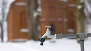 Frostschäden an Wasserleitungen