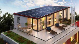 Ökologisches Passivhaus