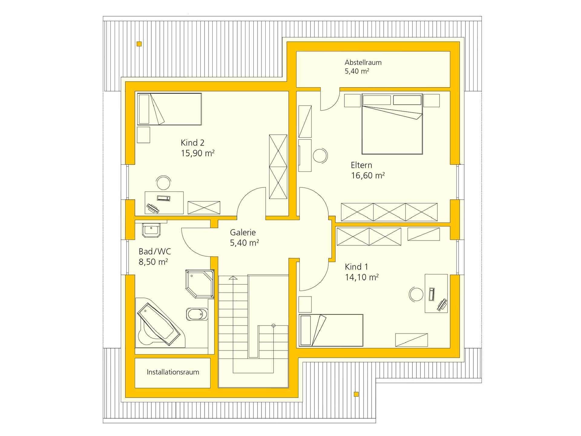 Ankleidezimmer planen - Musterhaus.net