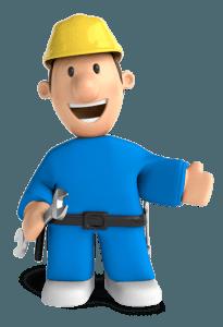 Der Arbeiter Hain Hausbauer