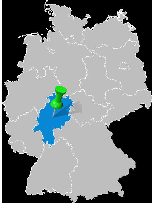Haus bauen in Hessen