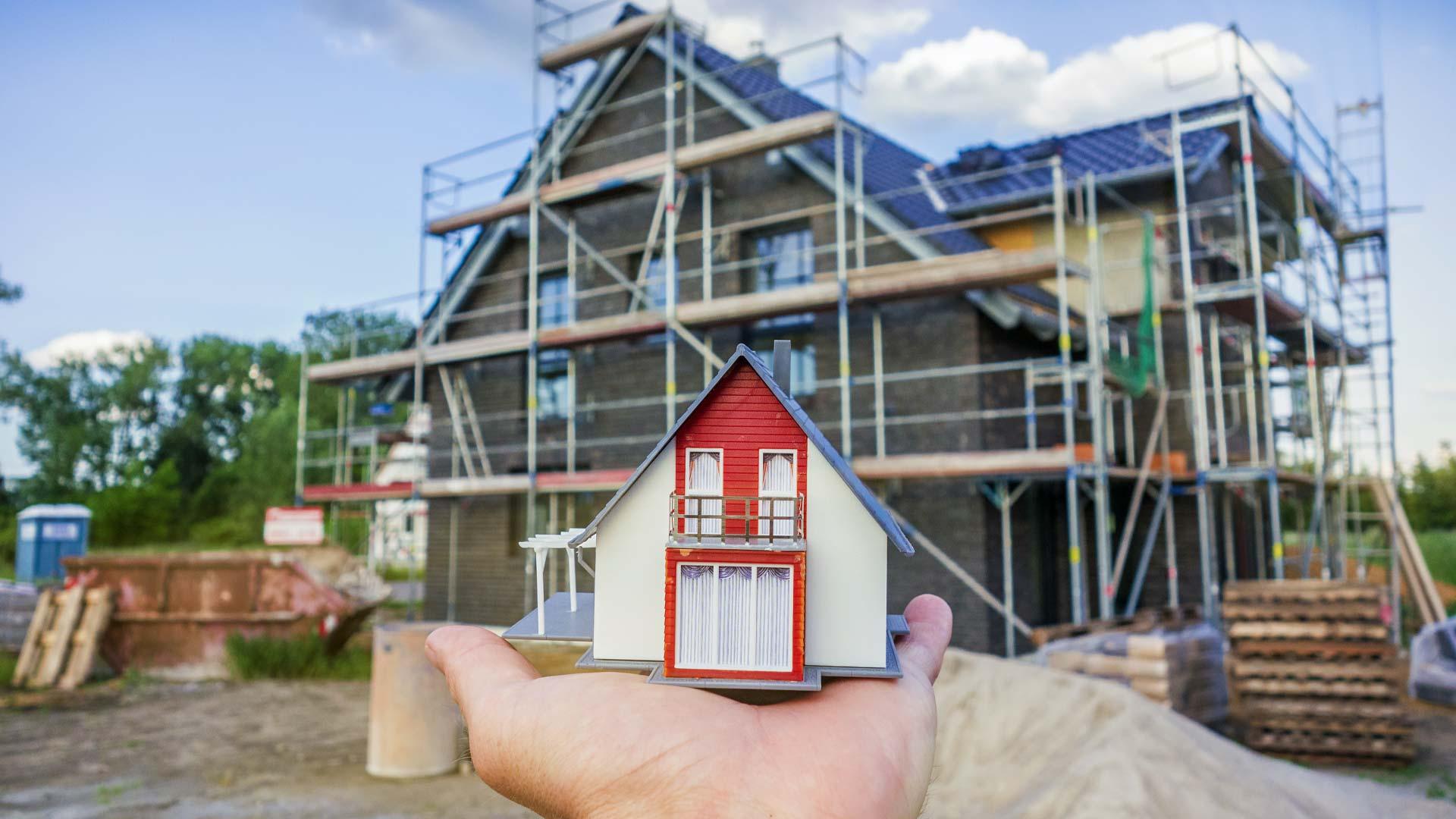 Ein Haus bauen oder kaufen