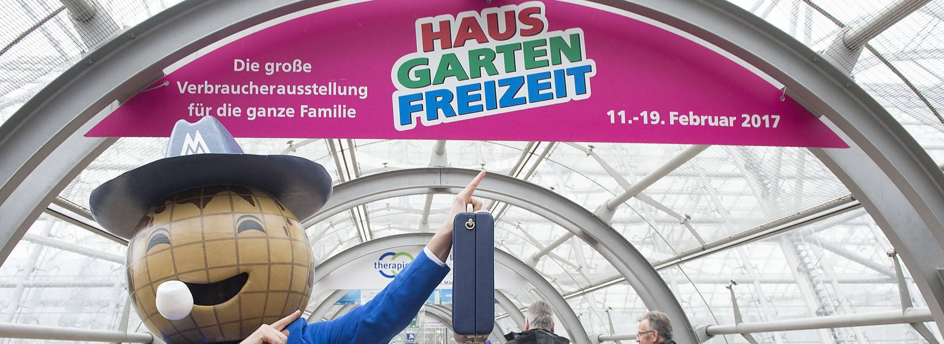 haus-garten-freizeit – messe leipzig | musterhaus, Garten ideen gestaltung