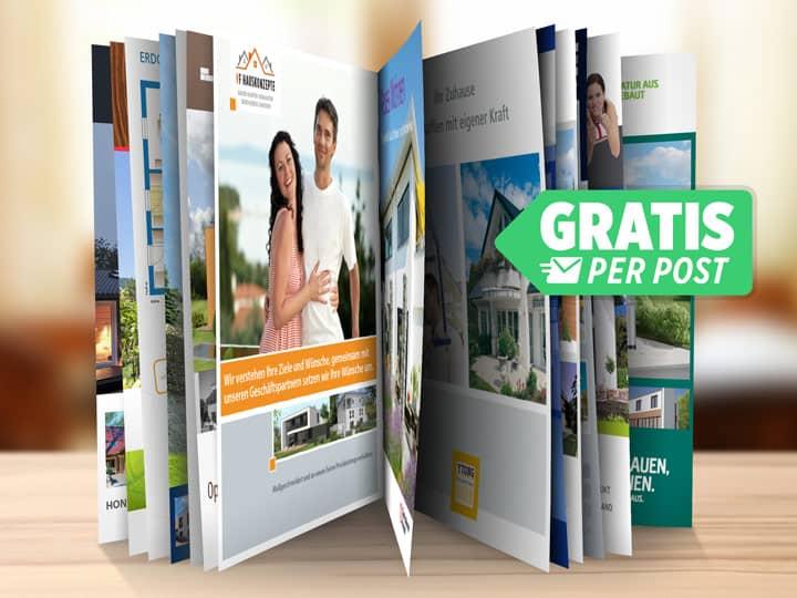 Hausbau-Kataloge
