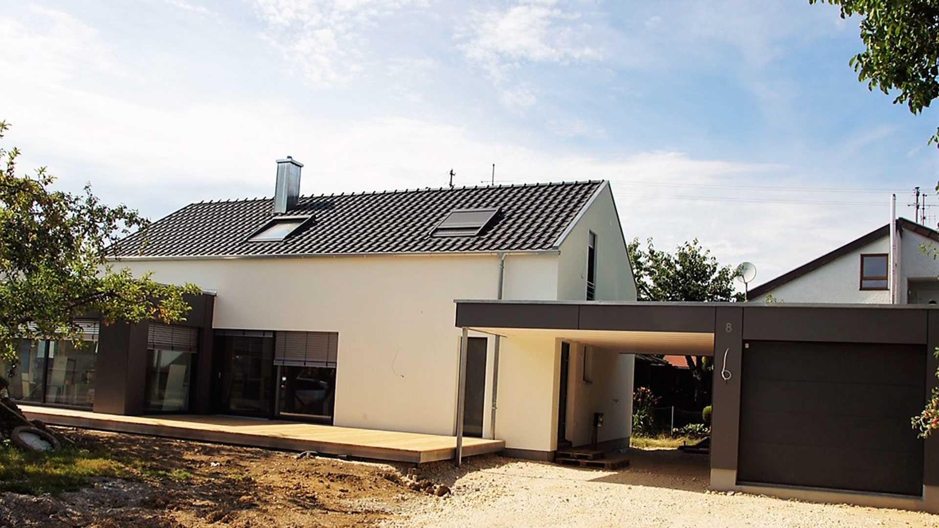 Hausbau Kielwein Kundenhaus Besichtigung