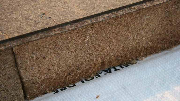 Holzfaser Dämmstoff