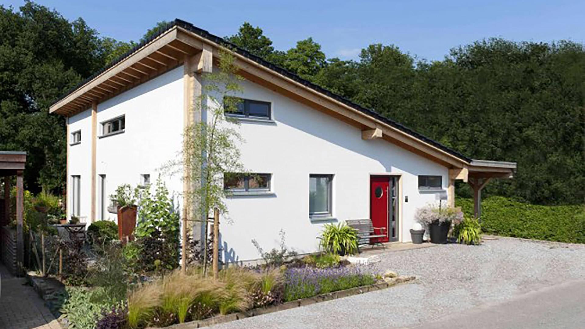 Ökohaus-Biohaus Frontansicht