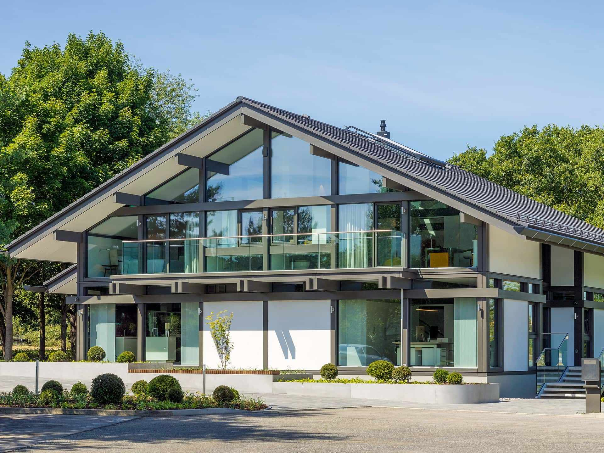 Likeable Huf Haus Kosten Reference Of Riverview. Villa In Skelettbauweise