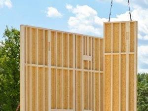Holzrahmenbauweise Rahmenbau