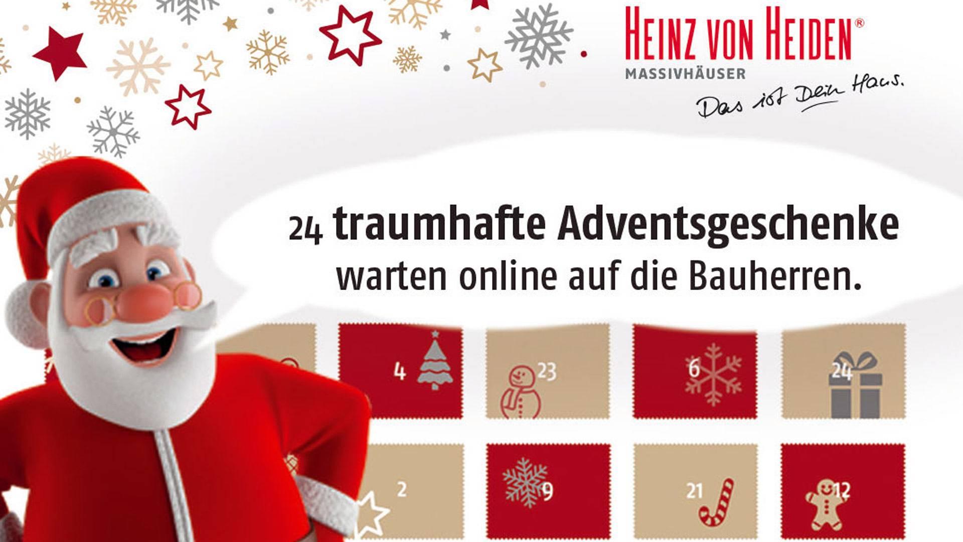 Heinz von Heiden Weihnachtswelt