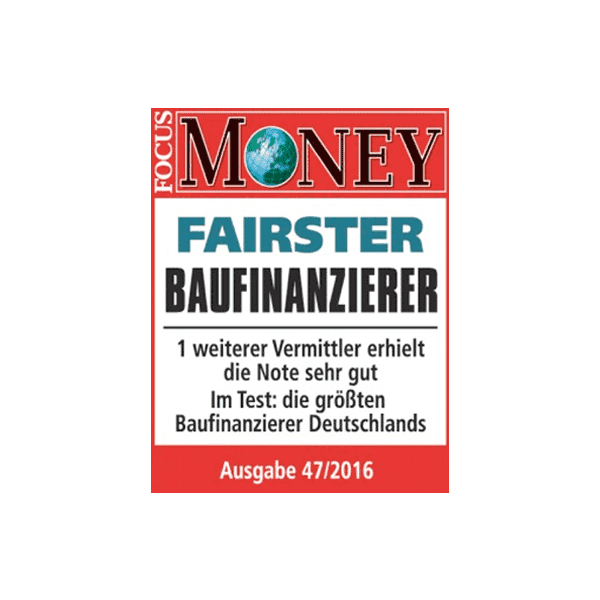 Interhyp zählt zu Deutschlands fairsten Baufinanzierern