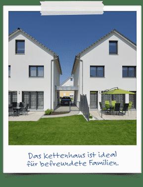 Kettenhaus -ideal für befreundete Familien