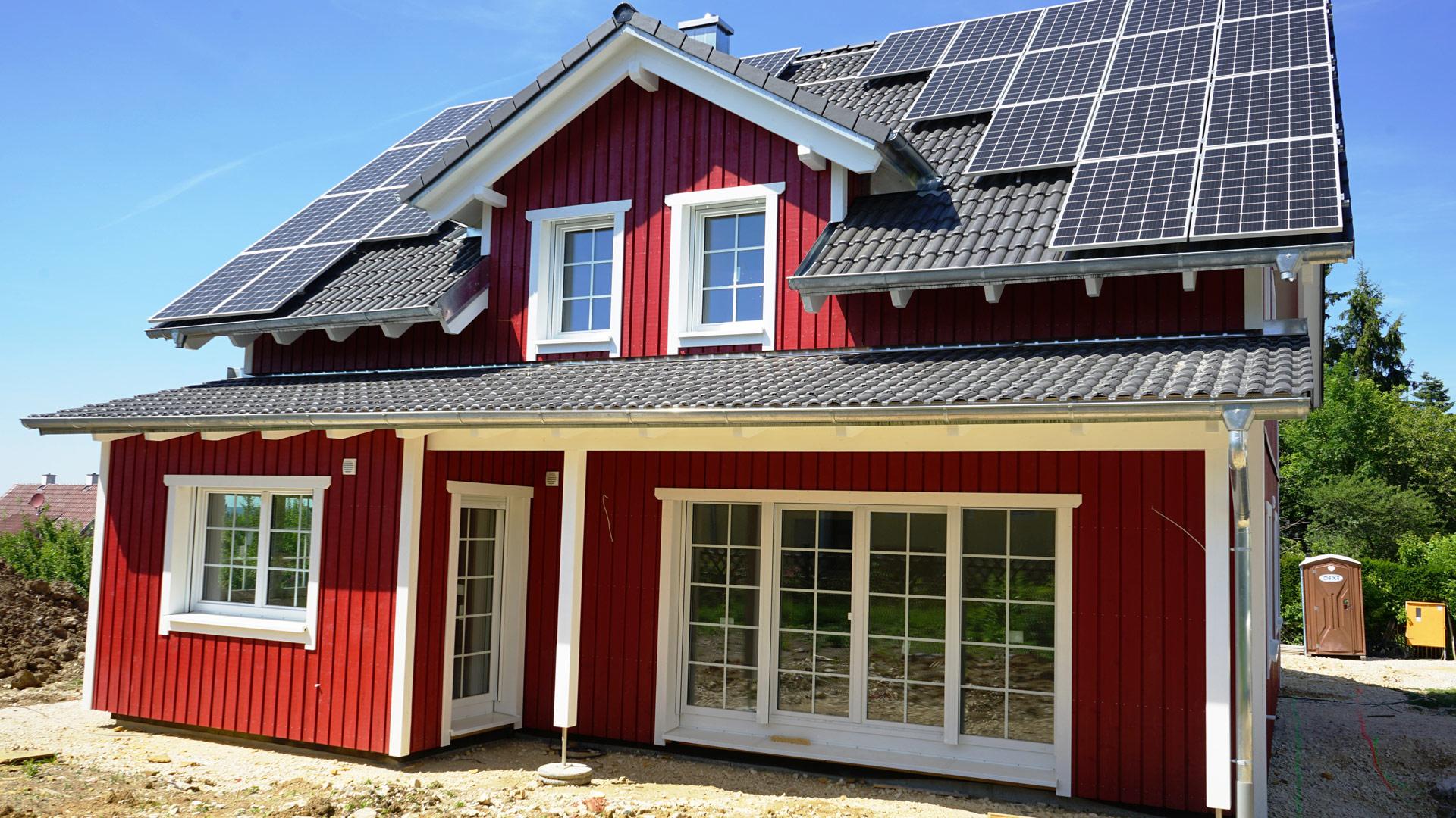 Schwedenhaus von Holzbau Kielwein