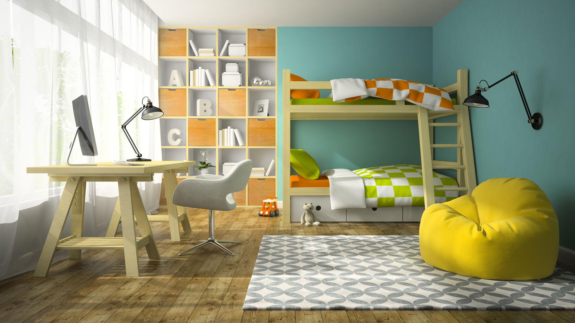 Kinderzimmer Ideen zur Gestaltung