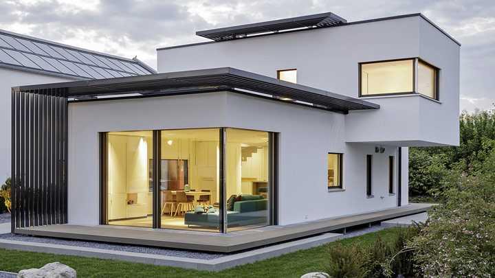 Wohnlösung Kompakthäuser