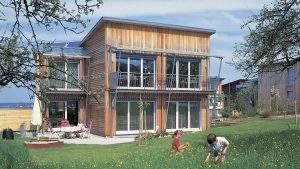 Kubus Holzhaus