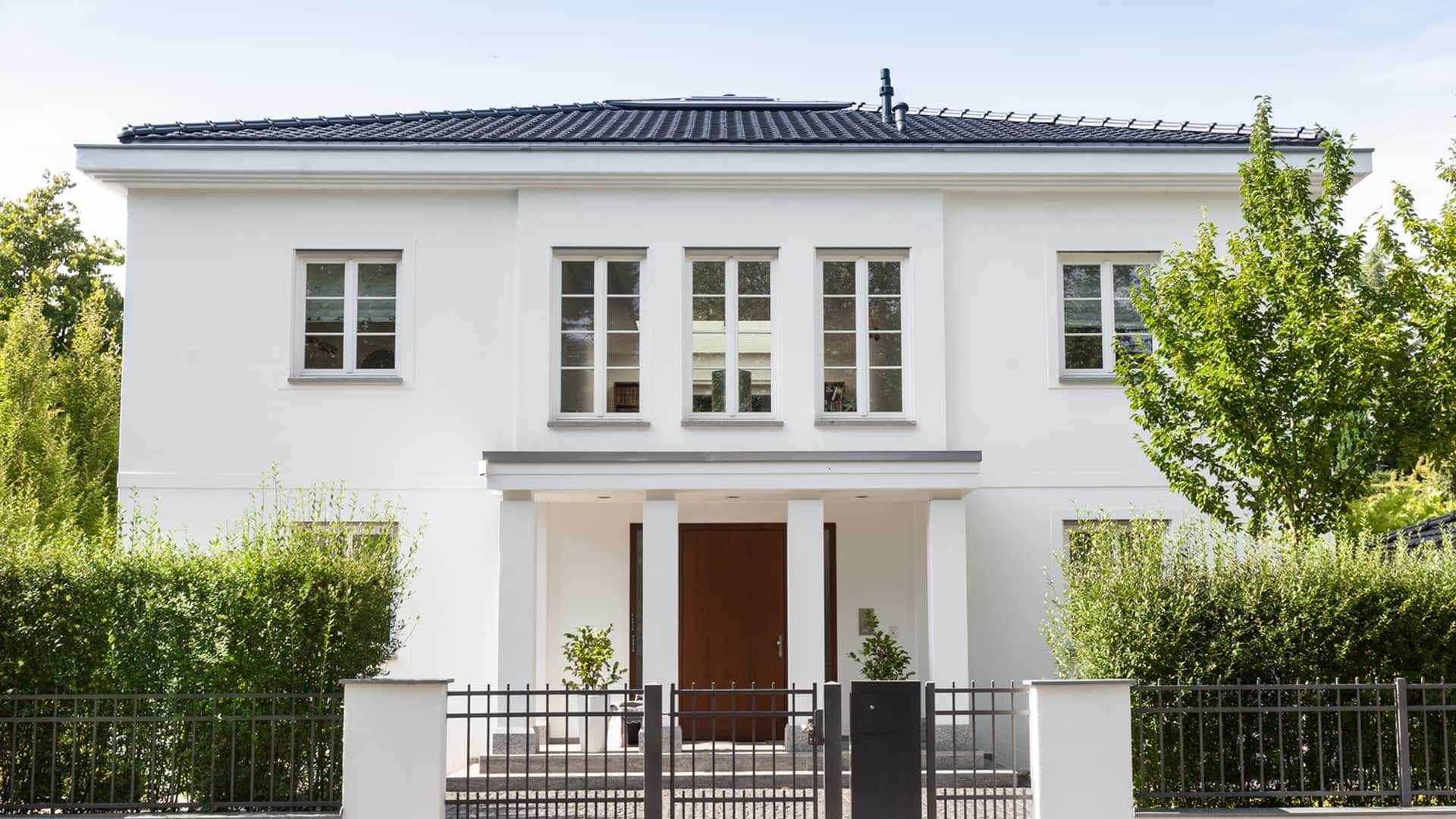 haus bauen landhausstil wohn design. Black Bedroom Furniture Sets. Home Design Ideas