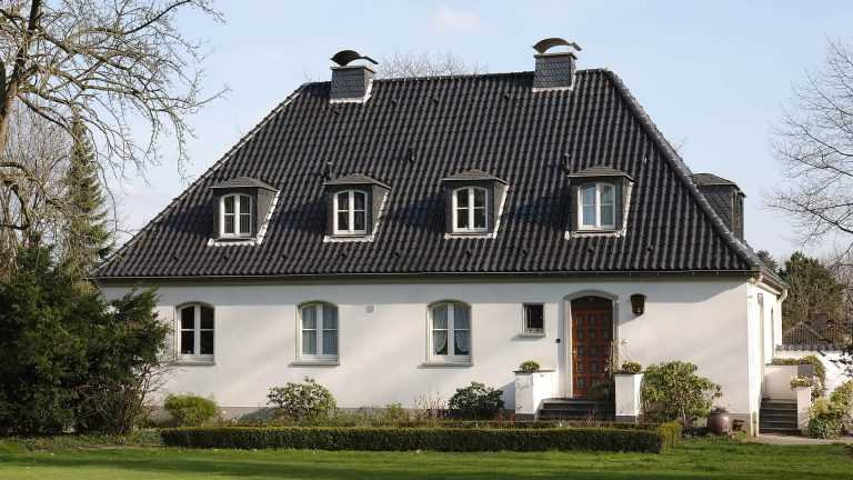Stadtvilla Landhausstil landhaus bauen hausbeispiele mit preisen und grundrissen