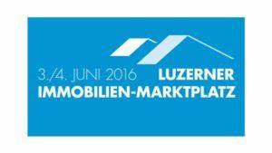 Messelogo der Luzerner Immobilien-Marktplatz - ab 03.06.2016