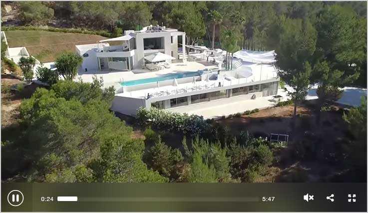 Luxusvilla auf Ibiza