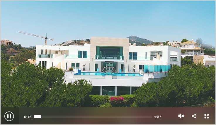 Luxusvilla in Marbella