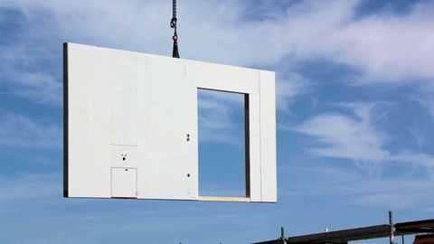 Massivhaus Beton-Elementbauweise