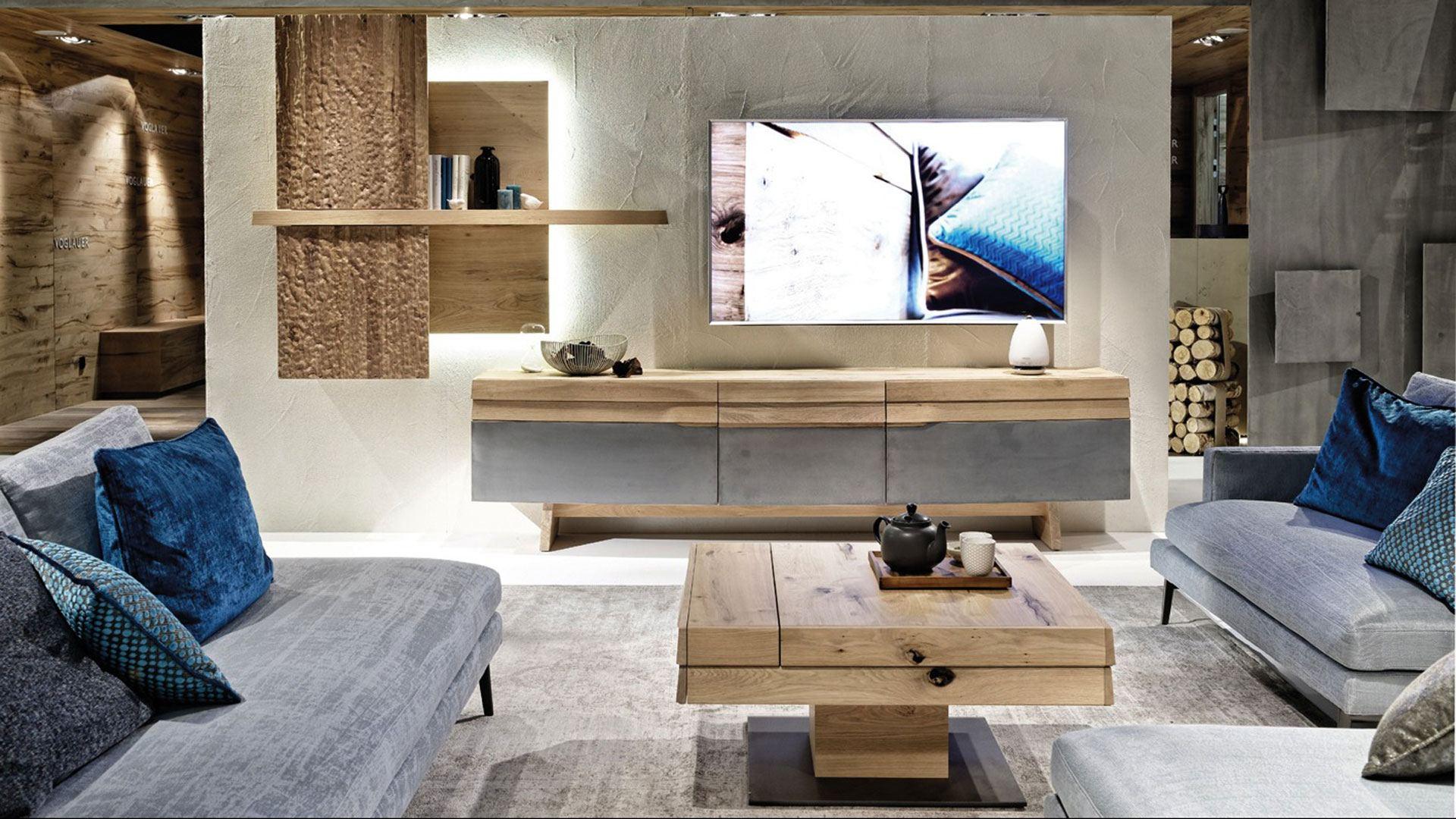 Massivholzmöbel Wohnzimmer Voglauer