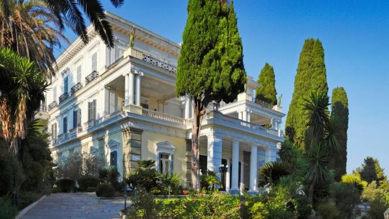Mediterranes Haus griechische Villa