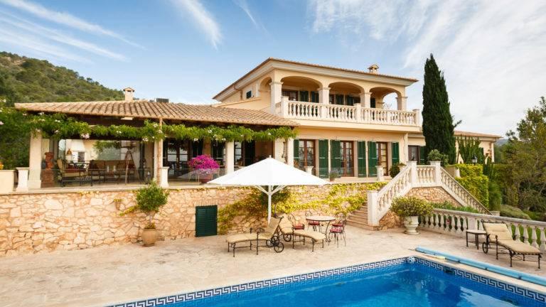 Mediterranes Haus, die Finca auf Mallorca