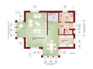 Bien-Zenker - Evolution 122 V4 Grundriss eg