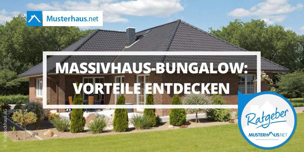 Massivhaus-Bungalow Vorteile Twitter