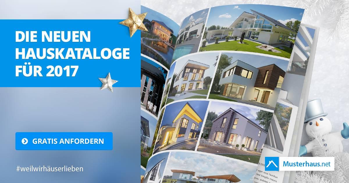 Gratis Hausbau-Kataloge 2017 – Musterhaus.net