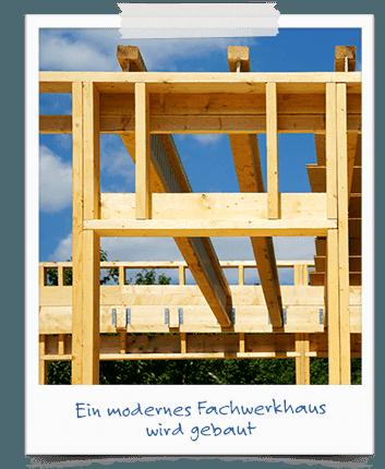 Ein modernes Fachwerkhaus bauen