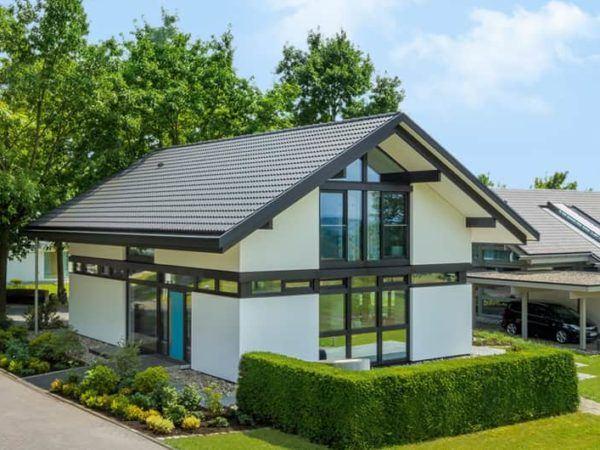 Modernes Fachwerkhaus