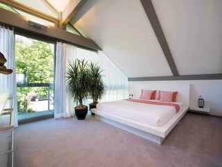 Modernes Fachwerkhaus Schlafzimmer