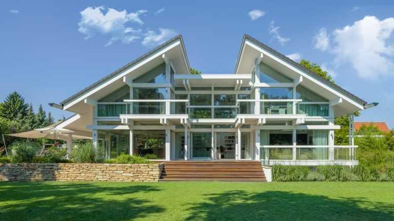 Modernes fachwerkhaus hausbeispiele mit preisen for Fachwerkhaus bauen