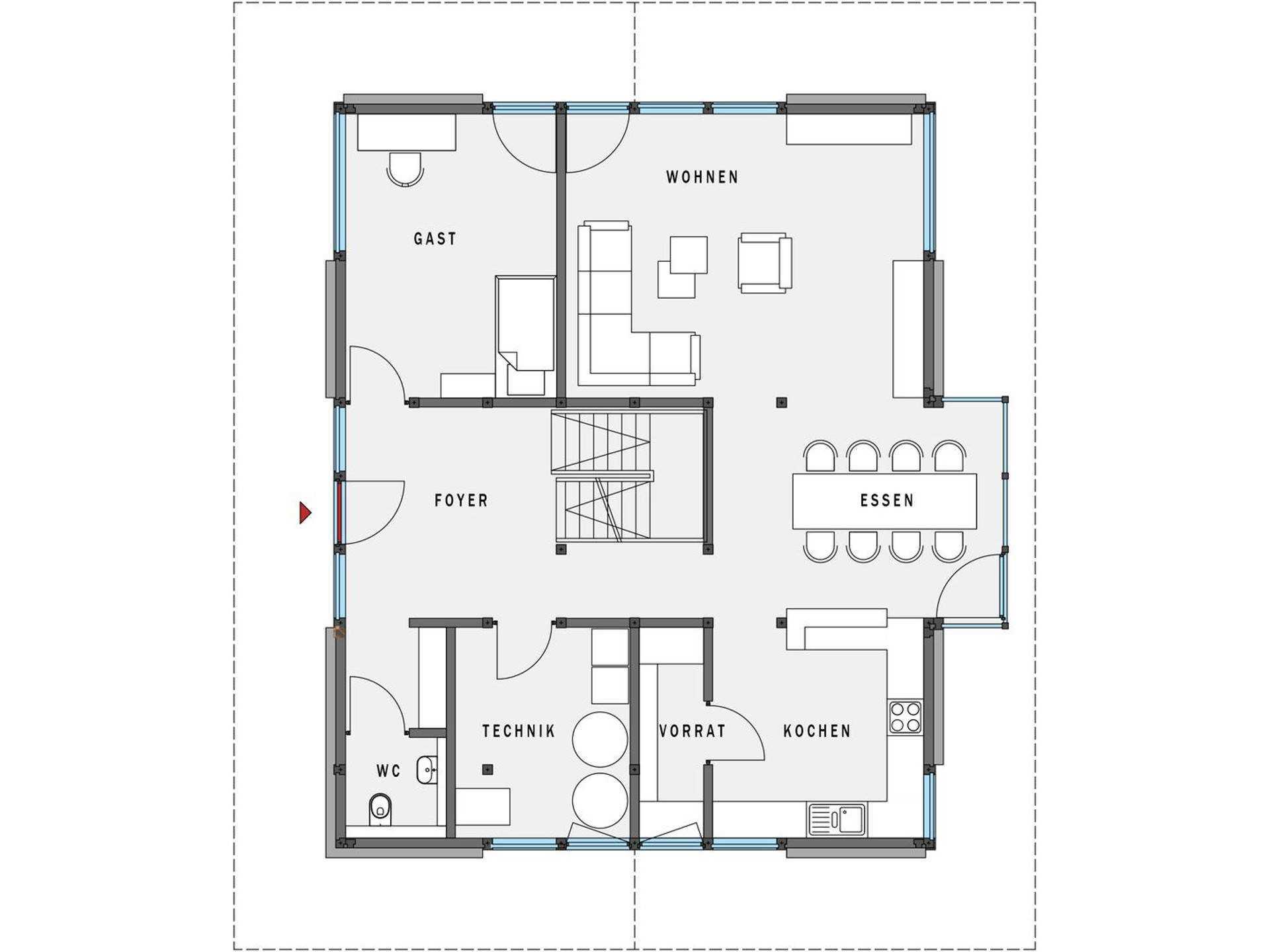 modernes fachwerkhaus hausbeispiele mit preisen. Black Bedroom Furniture Sets. Home Design Ideas
