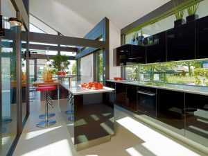 Modernes Fachwerkhaus Küche