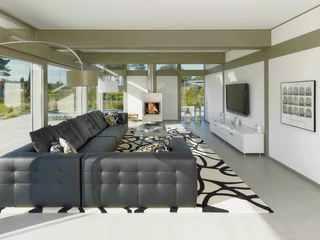 Modernes Fachwerkhaus Wohnzimmer