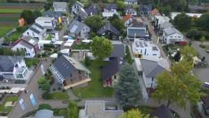 Musterhauspark Fellbach von oben