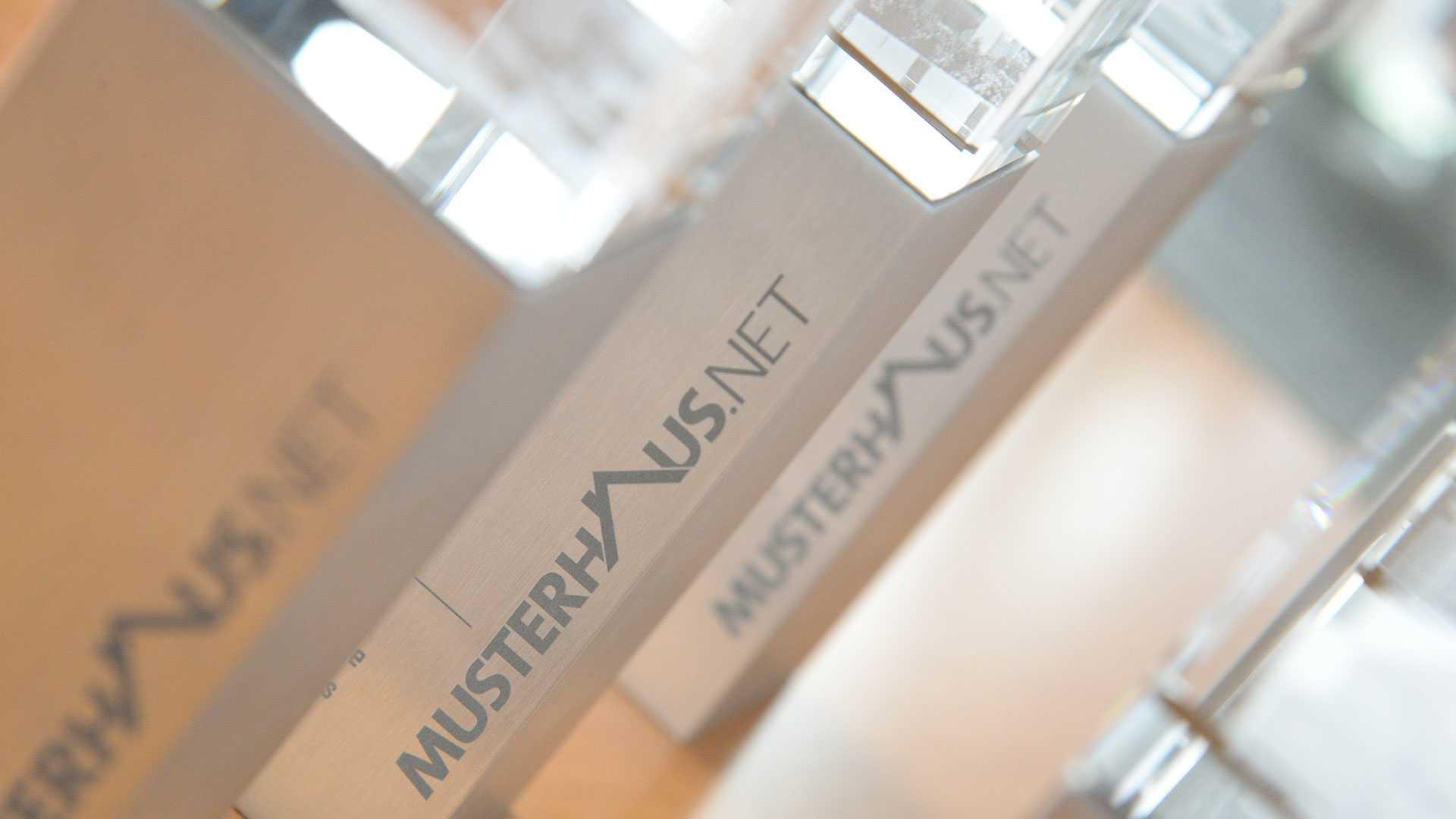 Deutscher Musterhauspreis Pokale