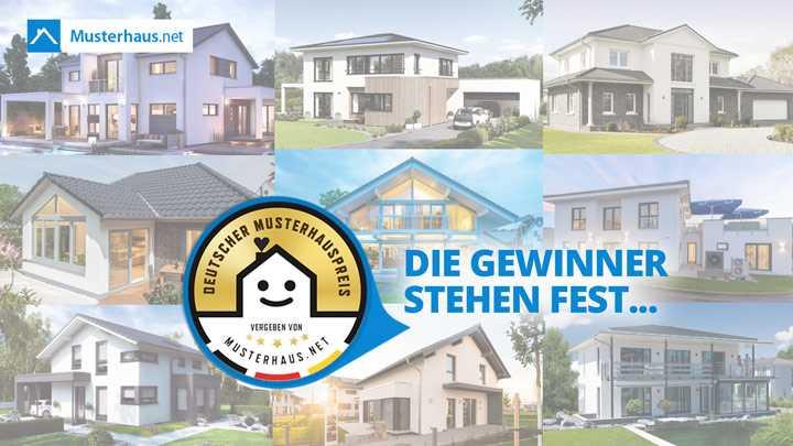 Deutscher Musterhauspreis 2017 - Die Gewinner stehen fest