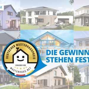 Sieger beim Deutschen Musterhauspreis 2017